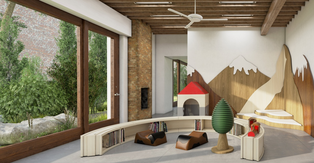 Swiss Daycare in Brooklyn, New York- Interior Design Concept