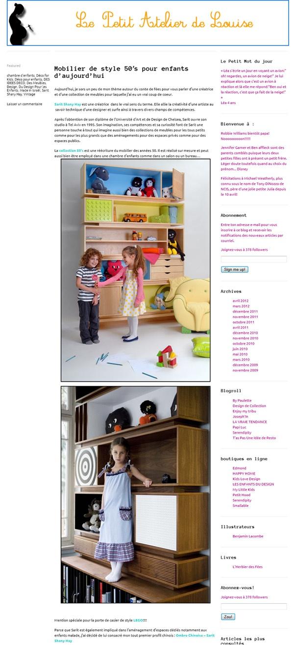 Le Petit Atelier De Louise